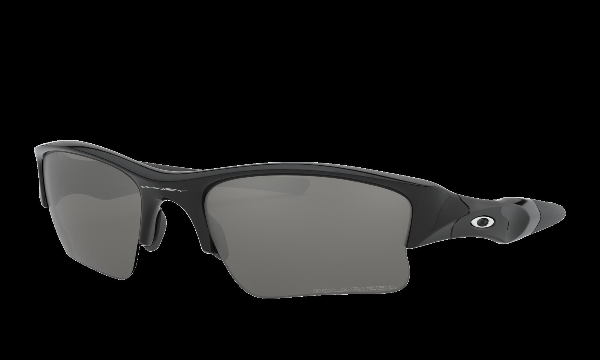 Oakley FLAK JACKET XLJ Black Sunglasses | Glasses.com ...