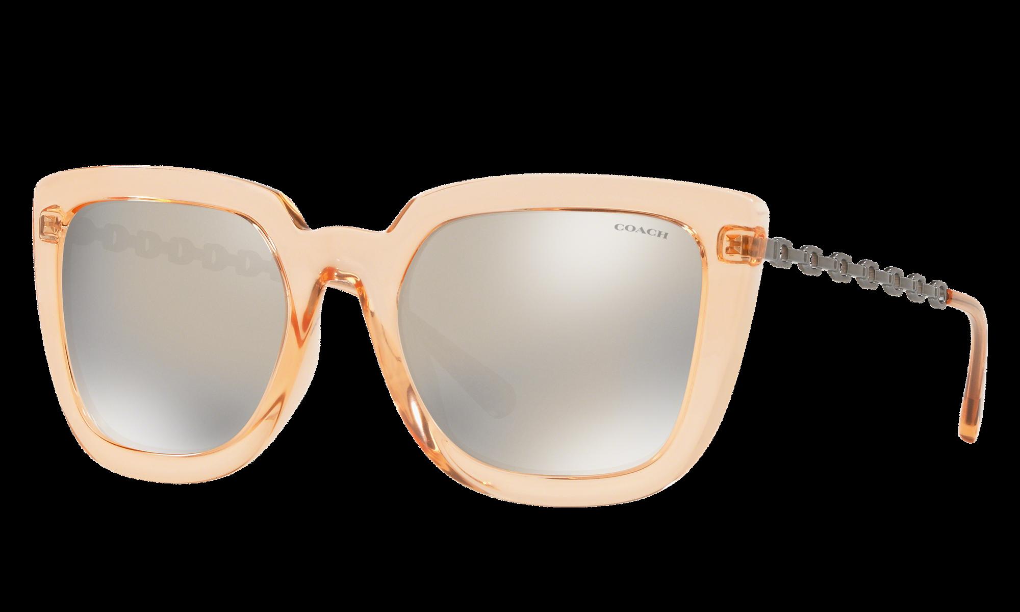 Coach L1064 Pink Sunglasses | Glasses.com® | Free Shipping