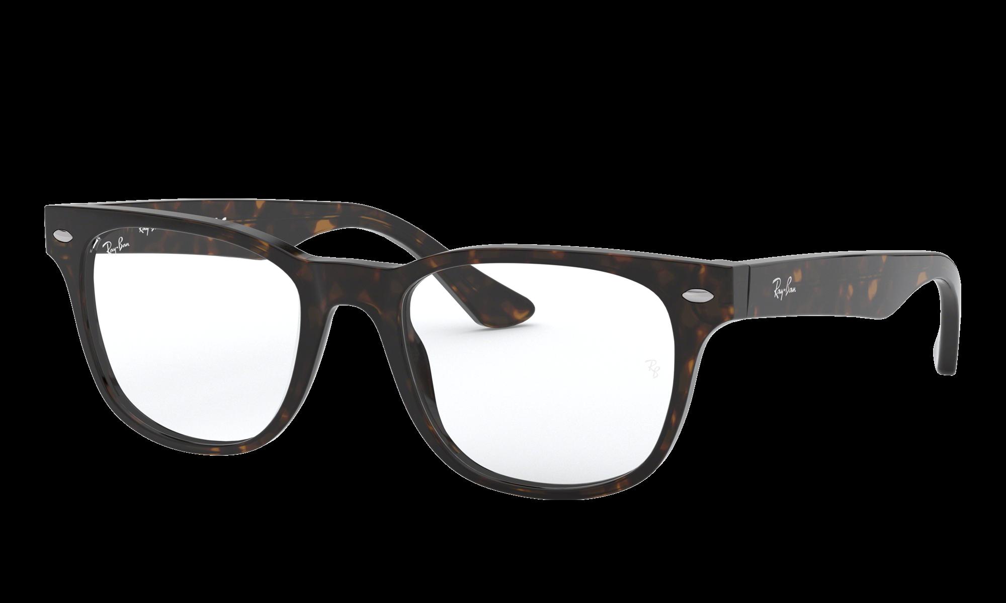 Ray-Ban RX5359 Tortoise Eyeglasses | Glasses.com® | Free ...