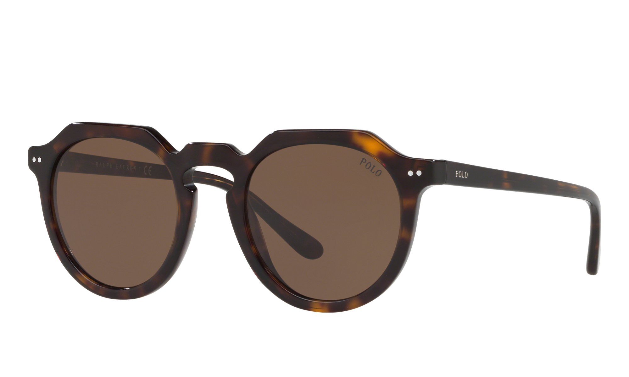 1930s Glasses and Sunglasses History Polo Ralph Lauren Unisex Ph4138 Tortoise Size Standard $79.00 AT vintagedancer.com