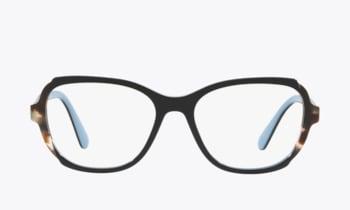 Prada Heritage PR 03VV Black Havana Eyeglasses 1