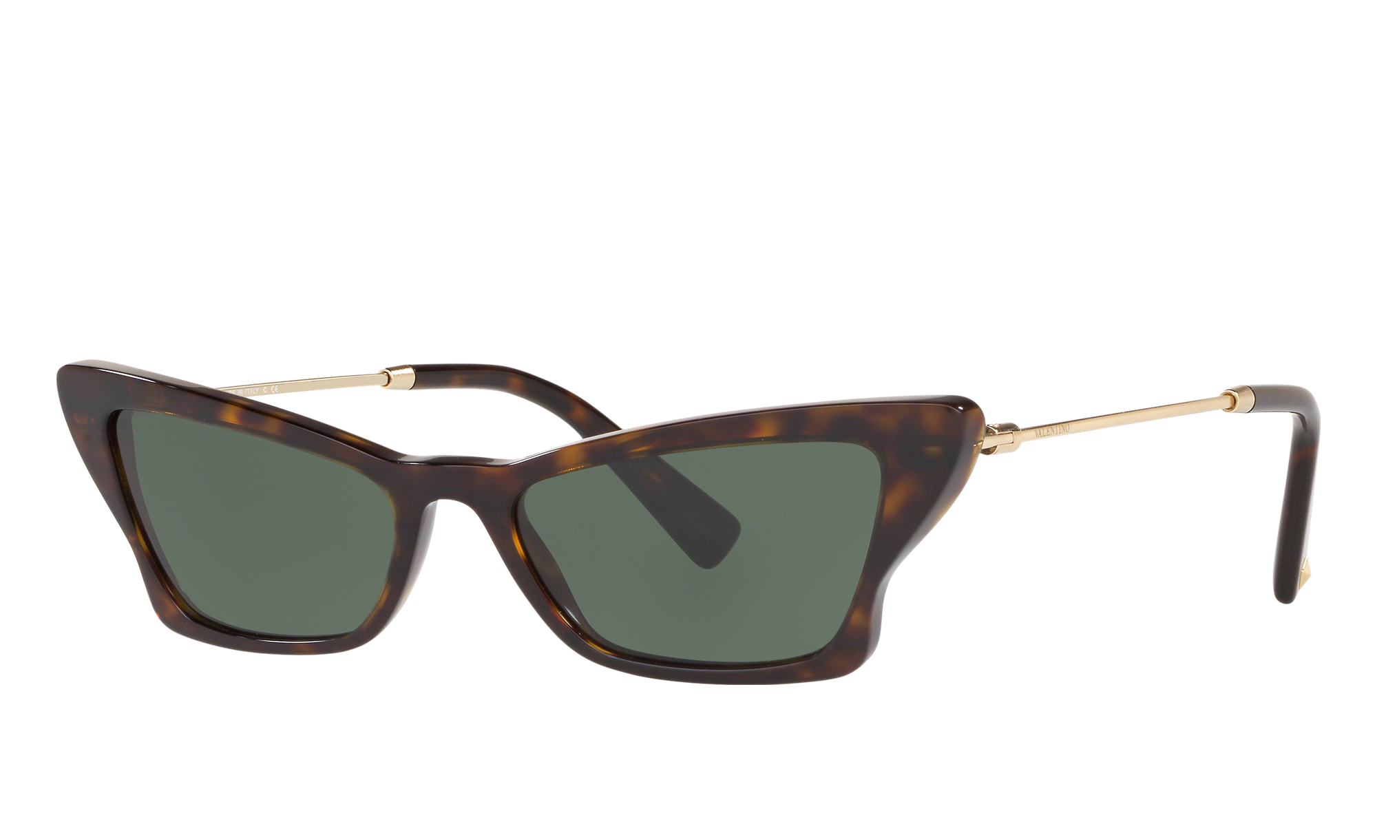 1950s Glasses, Sunglasses History for Women Valentino Unisex Va4062 Tortoise Size Standard $180.50 AT vintagedancer.com