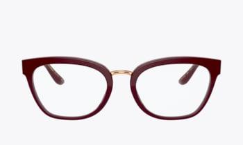 Dolce & Gabbana DG3335 Bordeaux Eyeglasses 1